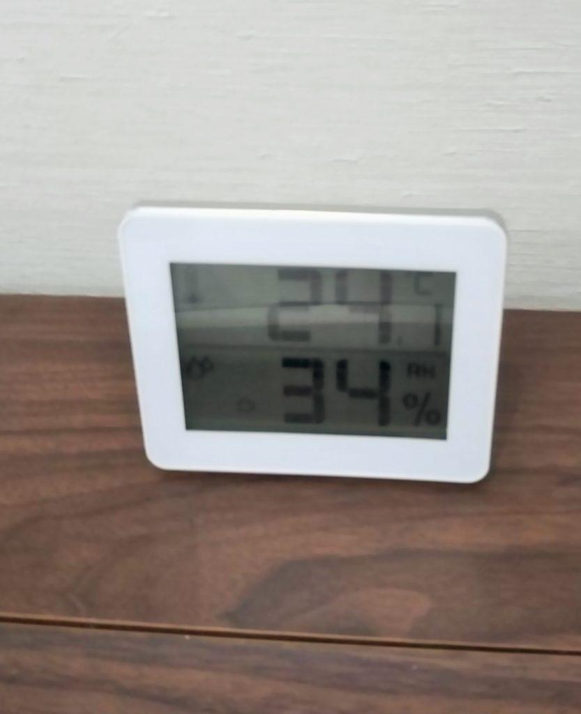 室内の温度は