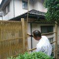 庭に竹垣をつくろう!【外構・施工例】後編