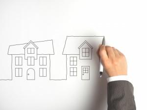 理想のマイホームを描く