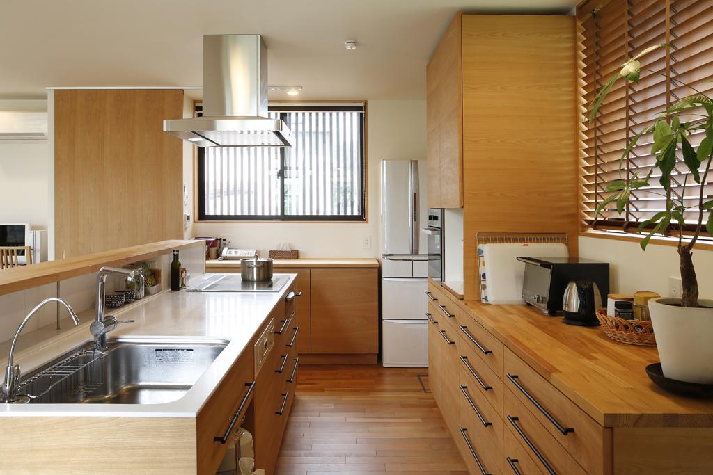 職人の造作キッチン